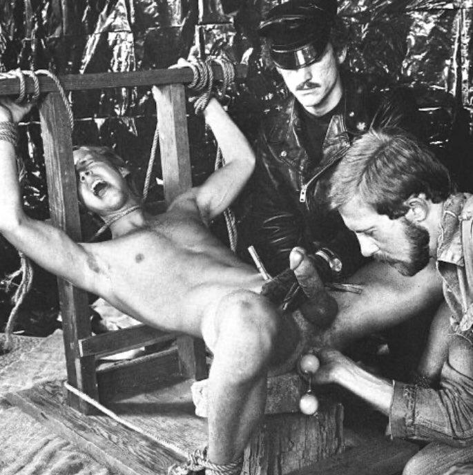 Extreme gay BDSM artwork