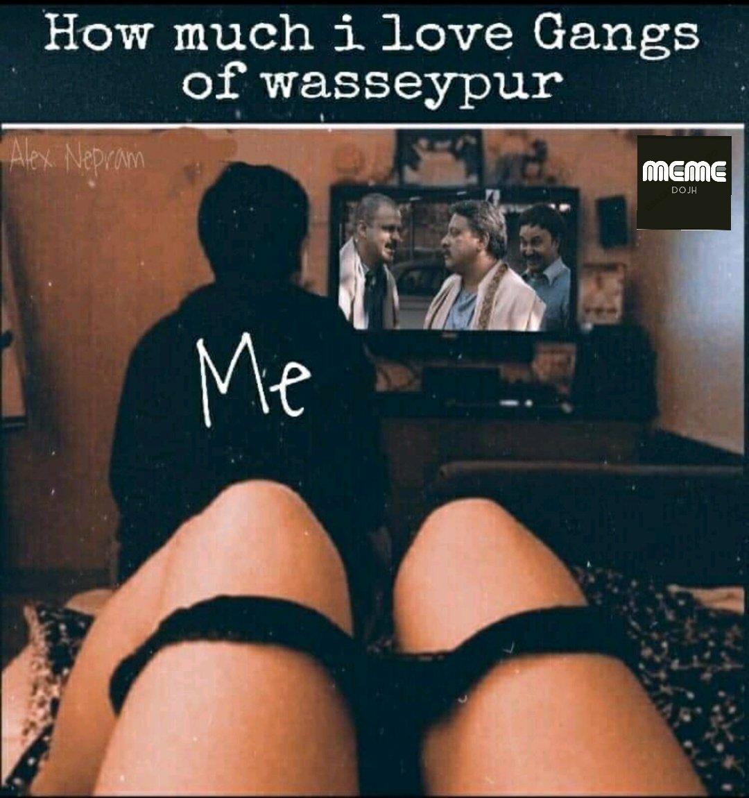 How much I love Wasseypur  #memedojh #indianmemes #memes #meme #desimemes #bakchodi #memesdaily #funnymemes #sarcasm #dankmemes #bollywoodmemes #indianjokes #chutiyapa #funny #hindimemes #india #bakchod #trolls #indianmeme #follow #rvcjinsta #sarcasticmemes #bakchodiyaanpic.twitter.com/pExnPbSnwm