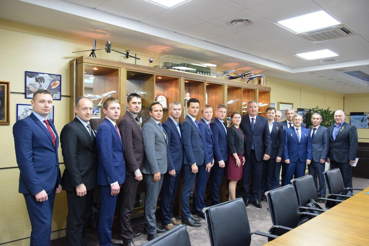 отряд космонавтов 2020 и Рогозин