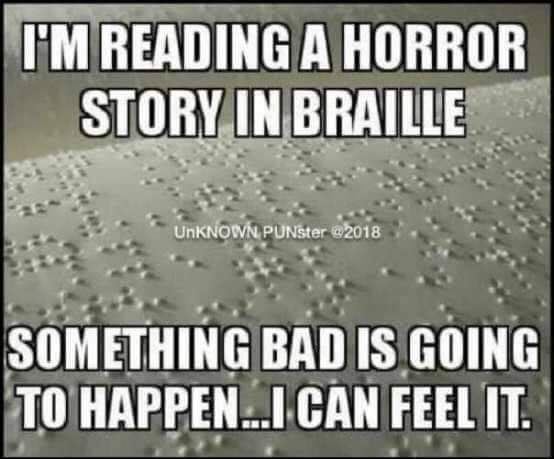 #puns #humor #funny #lol #silly #Braille