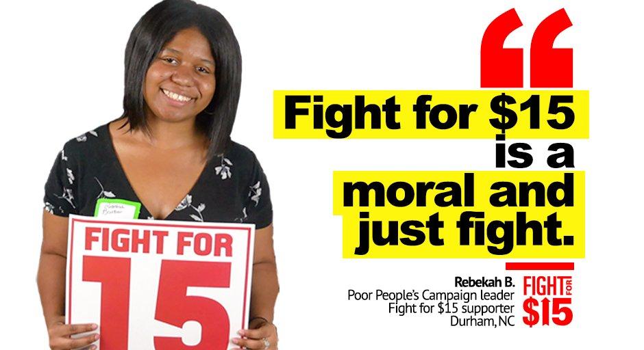 🙌🏾 @bekah_soul  #UnionsForAll #PoorPeoplesCampaign