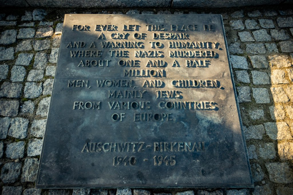 Today, our bipartisan Congressional Delegation visited Auschwitz-Birkenau to commemorate 75 years since liberation & reaffirm our commitment that the horrors of the Holocaust will never be repeated. Never Again.