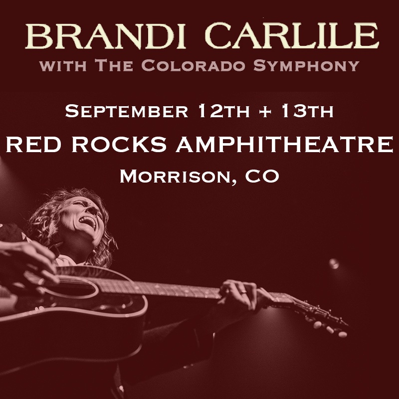 ROAD TRIP! I don't know if I'm going to live through singing with the Colorado Symphony at Red Rocks so this may well be my last show on earth    Presale: Jan 23rd at 10a MT via  http:// brandicarlile.com/tour     (no code needed) General onsale: Jan 24th at 10a MT<br>http://pic.twitter.com/lMlPBYThko