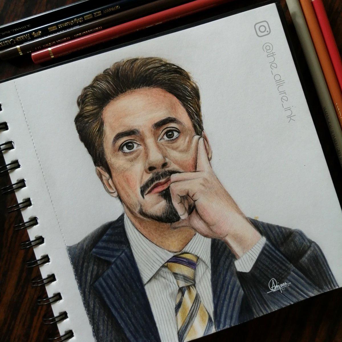 @RobertDowneyJr  Finally drew him#Artist,#fabercastell,#polychromos #passion ,#RDJ ,#lovepic.twitter.com/LaJz9VZZPd