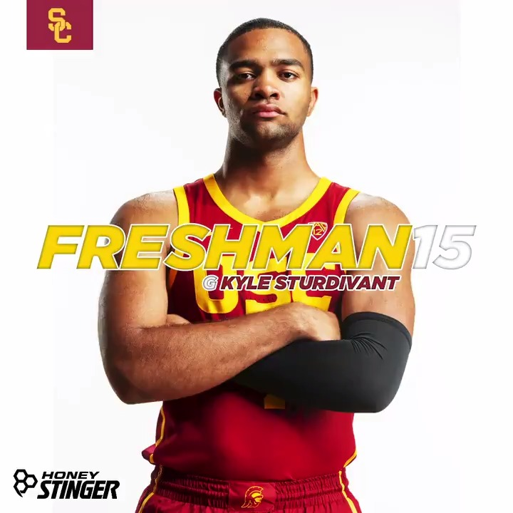 Kyle Sturdivant is far from home, but is loving the sports culture in LA.  Meet the freshman point guard!