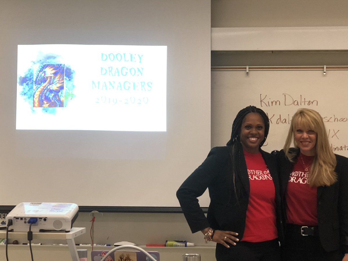 Awesome Dragon Manager meeting led by @tracyhalllbc where teachers are Hacking School Discipline! #proudtobeLBUSD