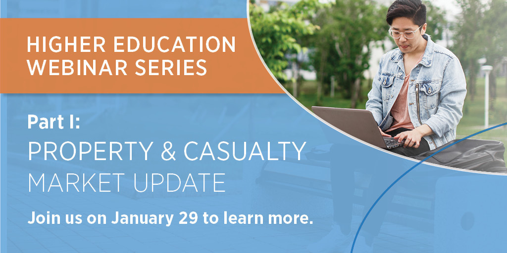 The Higher Education Market Update webinars are here. Dont miss the first topic of this three-part series as we discuss how to prepare for rapid shifts in market directions this year. bit.ly/2ukTRY2