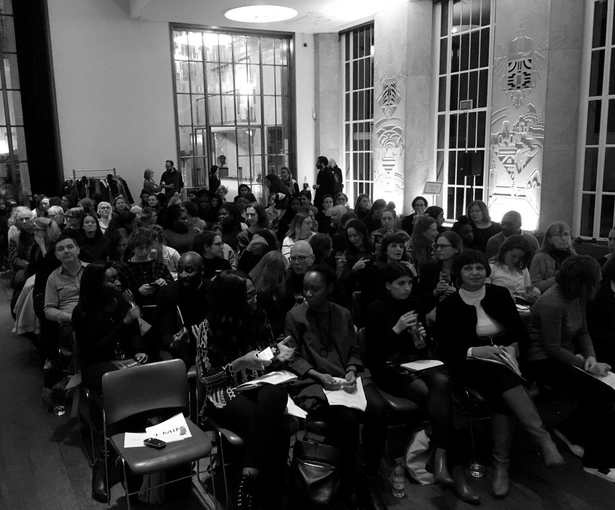 That's barely half of the room. Gosh. RIBA x in sisterhood with Part W #PioneeringModernistWomen