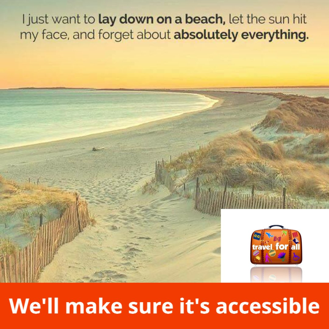 It's time to get out of the cold. Let us help you plan.   We'll make sure it's accessible!  https://travel-for-all.com/   #travelforall #letsgotothebeach #accessibletravel #whereisthesun #letsmaketheworldaccessiblepic.twitter.com/JyRY3vVrtK