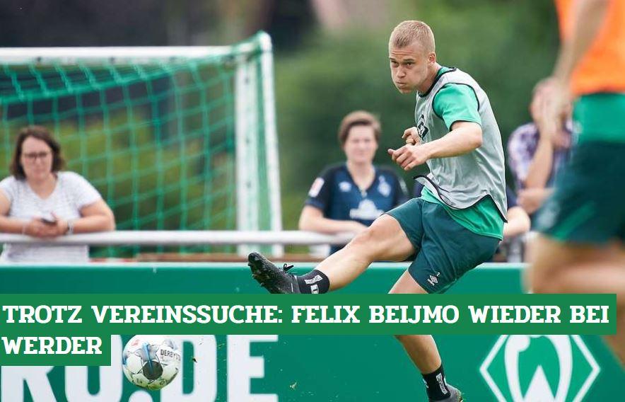 Felix #Beijmo ist wieder zurück bei #Werder - aber nur auf Zeit: http://bit.ly/Beijmo_Transferpic.twitter.com/F2KzFj61cv