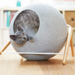 Image for the Tweet beginning: Acogedoras casas para gatos