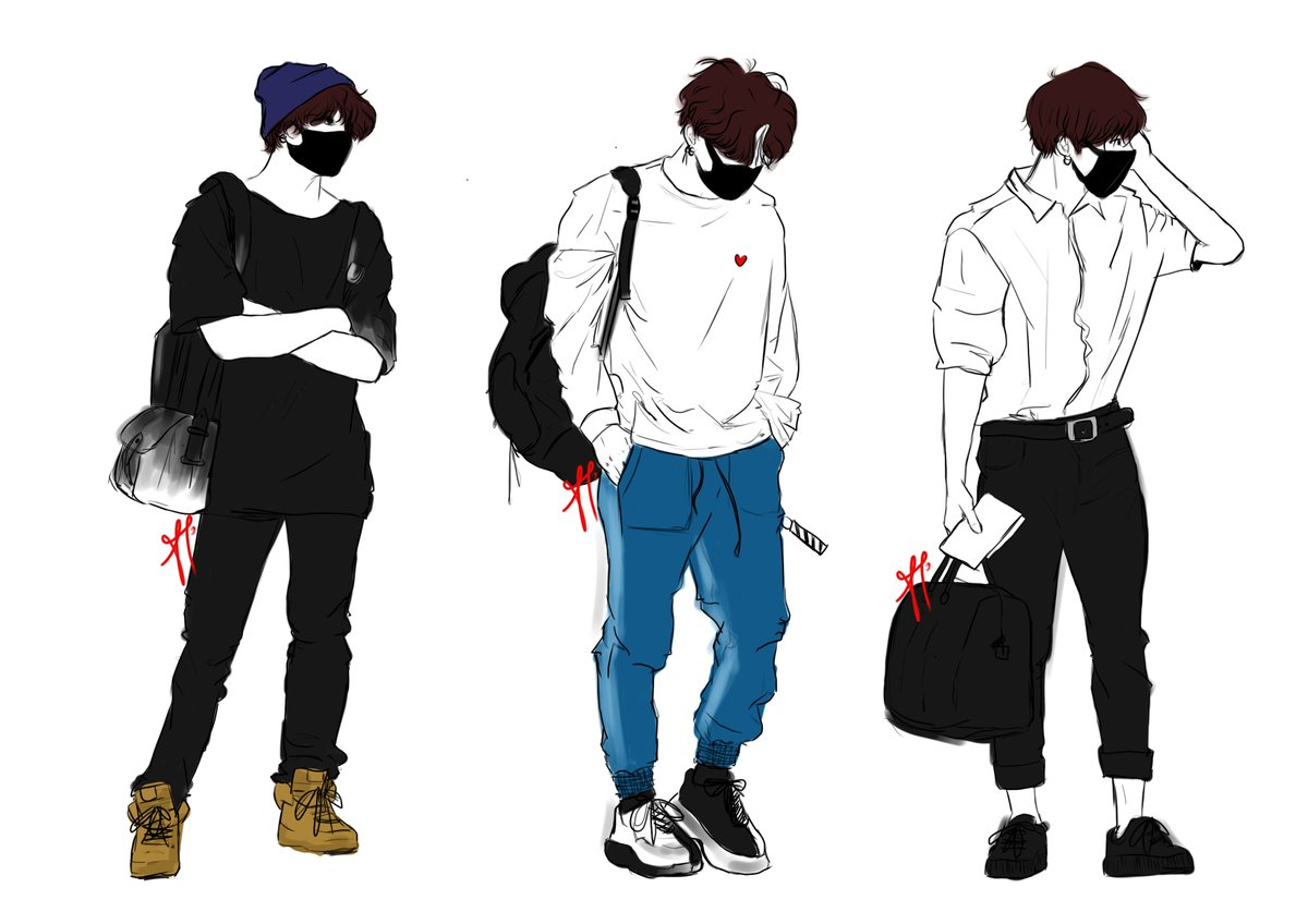 RT @sugahighs: a plethora of airport jungkooks so i can keep them all in one place #JUNGKOOK #btsfanart https://t.co/yKM1Biukub