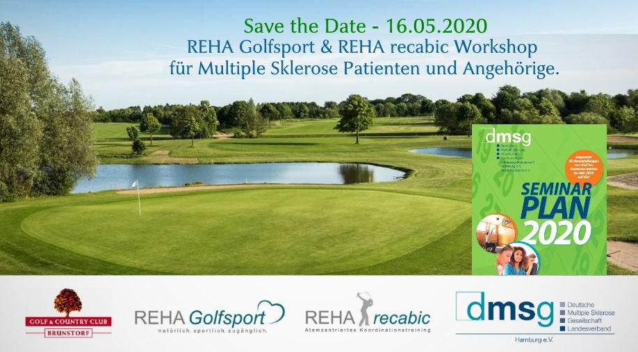 16.05.2020 - Multiple Sklerose (MS) Workshop: REHA Golfsport & REHA recabic im Golf & Country Club Brunstorf.  https://www.facebook.com/events/1411680552337020/…pic.twitter.com/lfY4gWYFGD