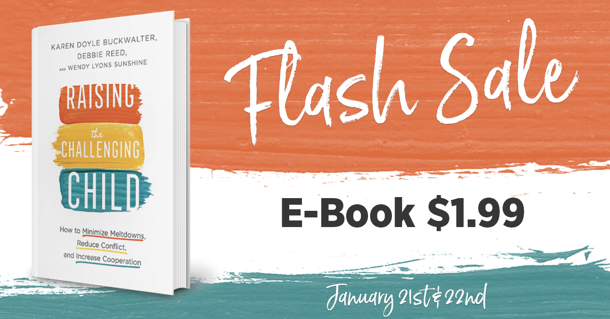 Flash Sale alert! Raising the Challenging Child is available for only $1.99 today and tomorrow! Download your copy to your favorite device and take it on the go!  #raisingthechallengingchild #flashsale #parenting #mustreads #family