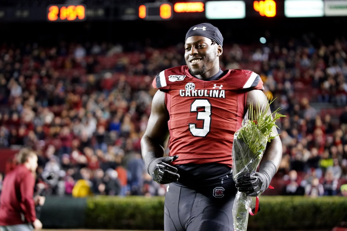 The College Network NFL draft: South Carolina's Javon Kinlaw battled homelessness on way to being a first-round prospect http://dlvr.it/RNSqHcpic.twitter.com/uKuvyWdwF9