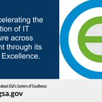 GSA's Centers of Excellence accelerate IT modernization by leveraging private sector innovation and government services while centralizing best practices and expertise. Learn about @GSACoE for #TechTuesday: https://t.co/Xm1Ct4va9O