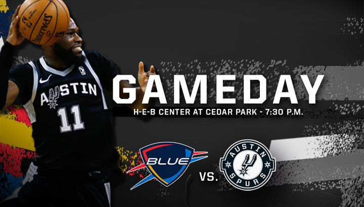 GAMEDAY!!  🎊 The Dream Game honoring Dr. Martin Luther King Jr., presented by @Thrivent 🏀 vs. @okcblue 🕢 7:30 p.m. CT 📍 @HEBCenter 🎟️ http://bit.ly/austinvsokc   📺 Watch on @FOXSportsSW and ESPN+