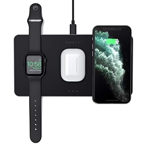 Satechi Trio Wireless Charging Pad – Qi-Certified – Compatible with iPhone 11 Pro Max/11 Pro/11, AirPods 2/Pro, Apple Watch Series5/4/3/2/1 http://benrobotdegilim.com/2020/01/21/satechi-trio-wireless-charging-pad-qi-certified-compatible-with-iphone-11-pro-max-11-pro-11-airpods-2-pro-apple-watch-series-5-4-3-2-1/…pic.twitter.com/ydc37gJEA5
