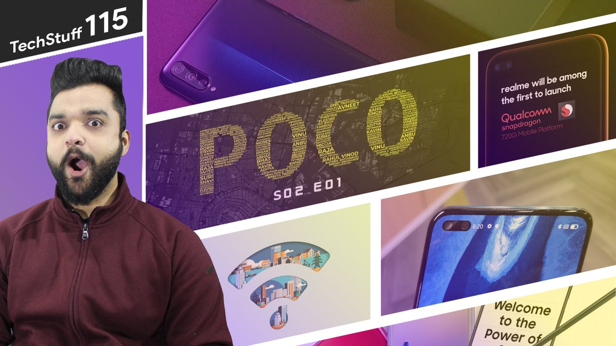 #TechStuff #115 - #OppoReno3 with 44MP Front Camera, #Pocoishere Season 02 Arrived Link - https://youtu.be/ZagDXp2FUGk pic.twitter.com/i7jrX9kg6e
