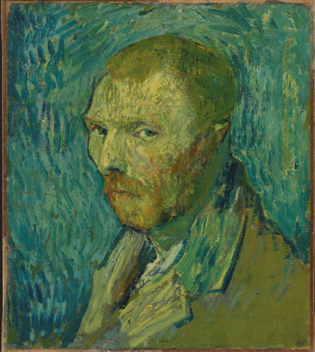A melancholic Van Gogh self-portrait from Oslo's @nasjonalmuseet has been authenticated after much dispute, said to be his only known work whilst suffering from psychosis. Will this unlock a deeper understanding of the Dutch master's despair? |Photo: Nasjonalmuseet /Anne Hansteen <br>http://pic.twitter.com/AoQg4w0hMk
