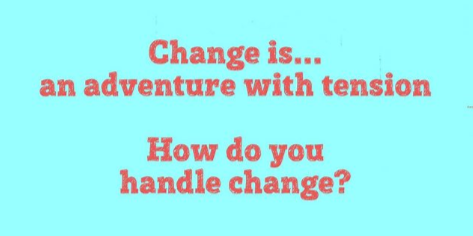 Things change. They have to. We want them to. But handling change is not so much fun. I've heard it said that the only people who actually enjoy change are wet babies. Read more here: http://ow.ly/1uar30qaZKQ #iTeachART #creativelife #oilpaintingtechniquespic.twitter.com/RQ5KD0RJOo
