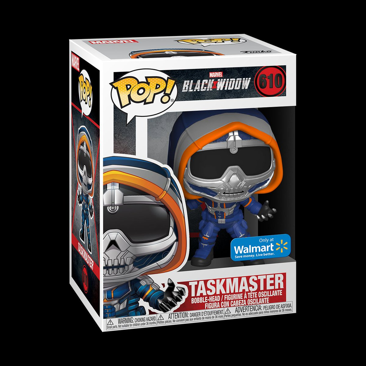Walmart exclusive Taskmaster with Claws up for preorder ►  https:// funko.link/TaskmasterClaws    <br>http://pic.twitter.com/99UyO51bYk