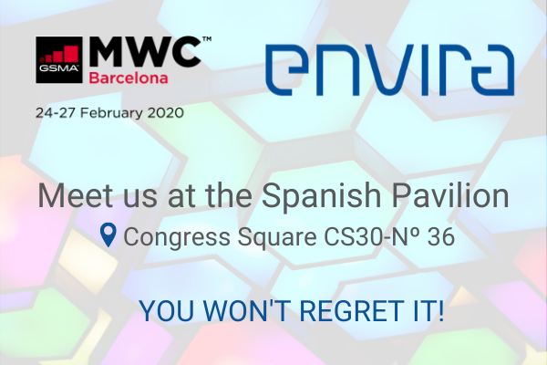 Remember we are gearing up for #MWC20 Barcelona. Join ENVIRA at booth CS30-36 to discover our mobile IoT solutions  <br>http://pic.twitter.com/Cp8Ab2USA3