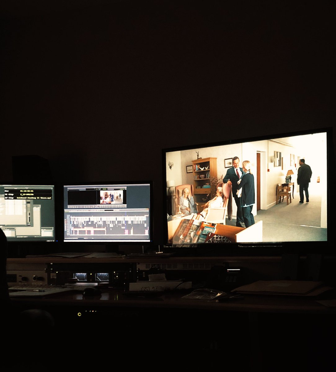 Locked picture on #AfterLife2. Now grade, dub, score & weeks of translating into over 100 languages.