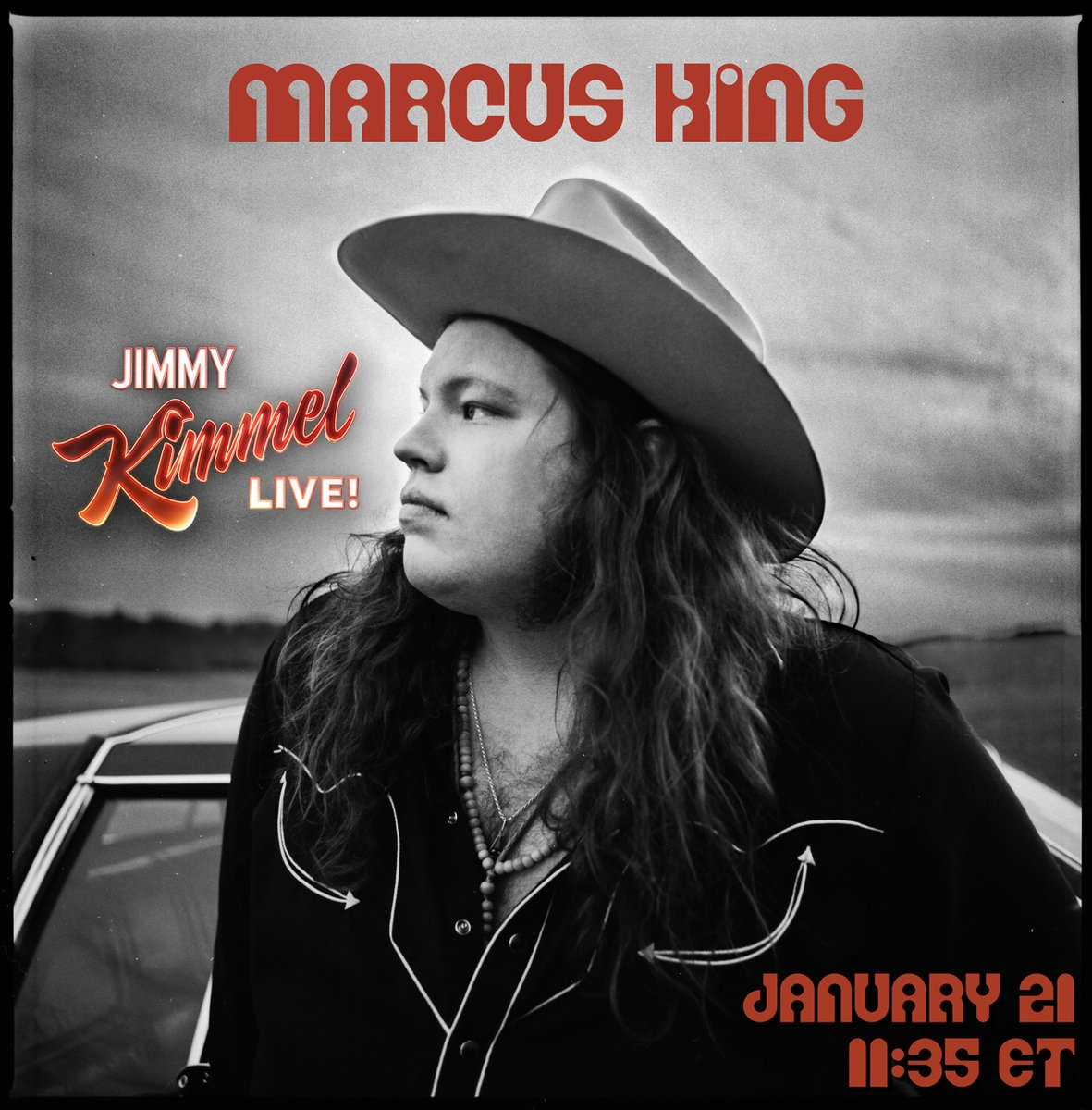 TUNE IN TONIGHT for @realmarcusking1 , Jack, and Stephen on @JimmyKimmelLive !! 11:35PM ET.