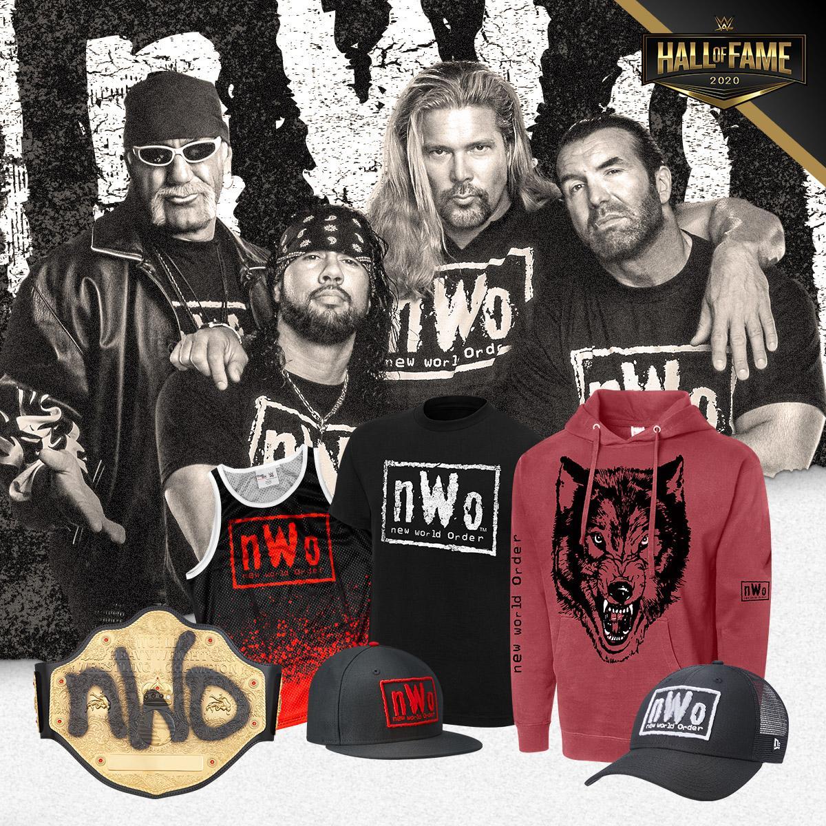 HoF 4 Life! Celebrate with #nWo gear at #WWEShop. #WWE
