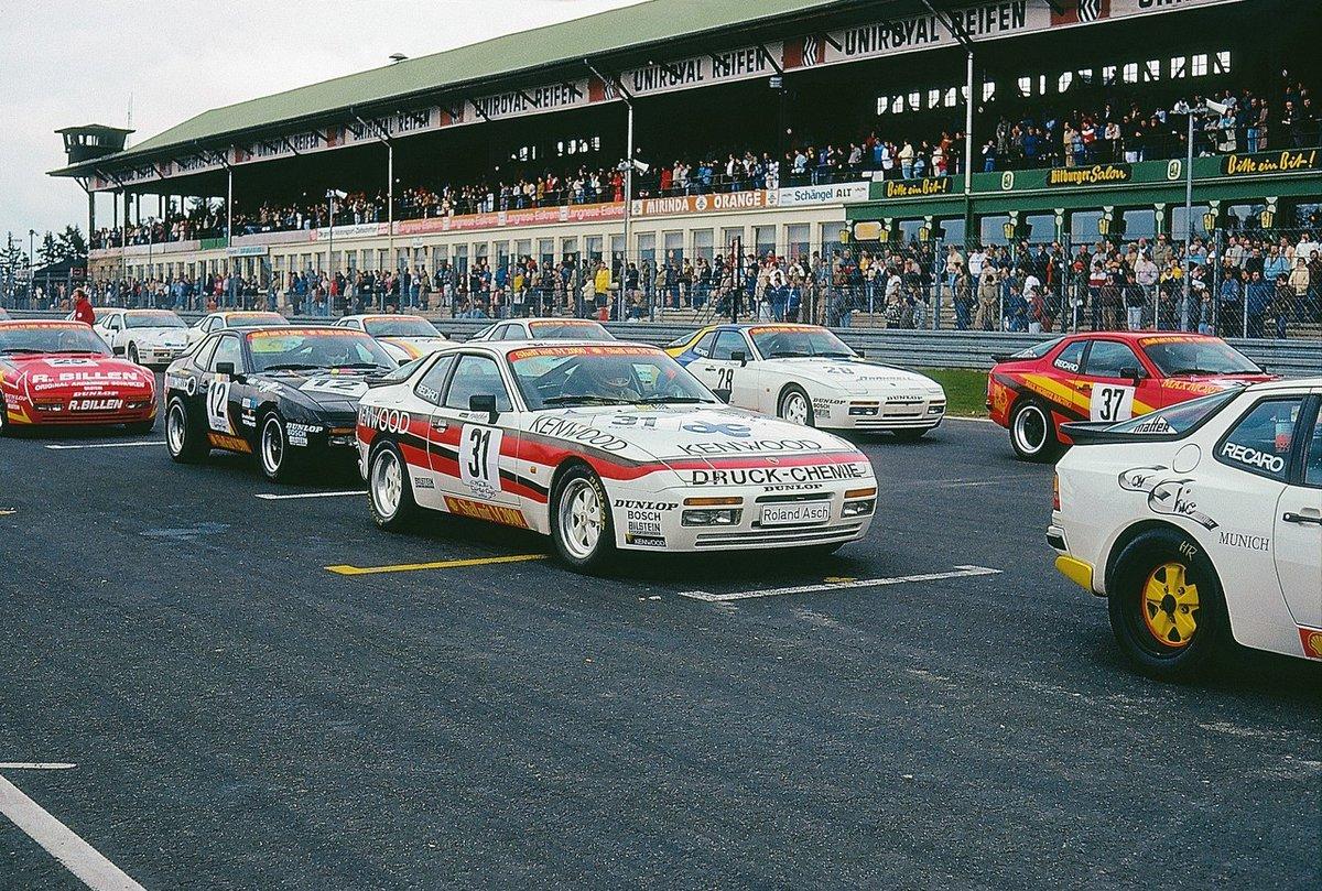 Rsf Motorsport On Twitter 1986 Nurburgring Adac Turbo Cup Porsche 944 Turbo