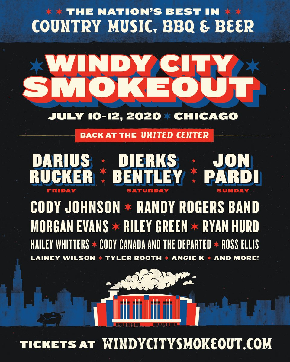 .@WCSmokeout, here we come! See y'all soon. Tickets on sale now: bit.ly/WindyCitySmoke…