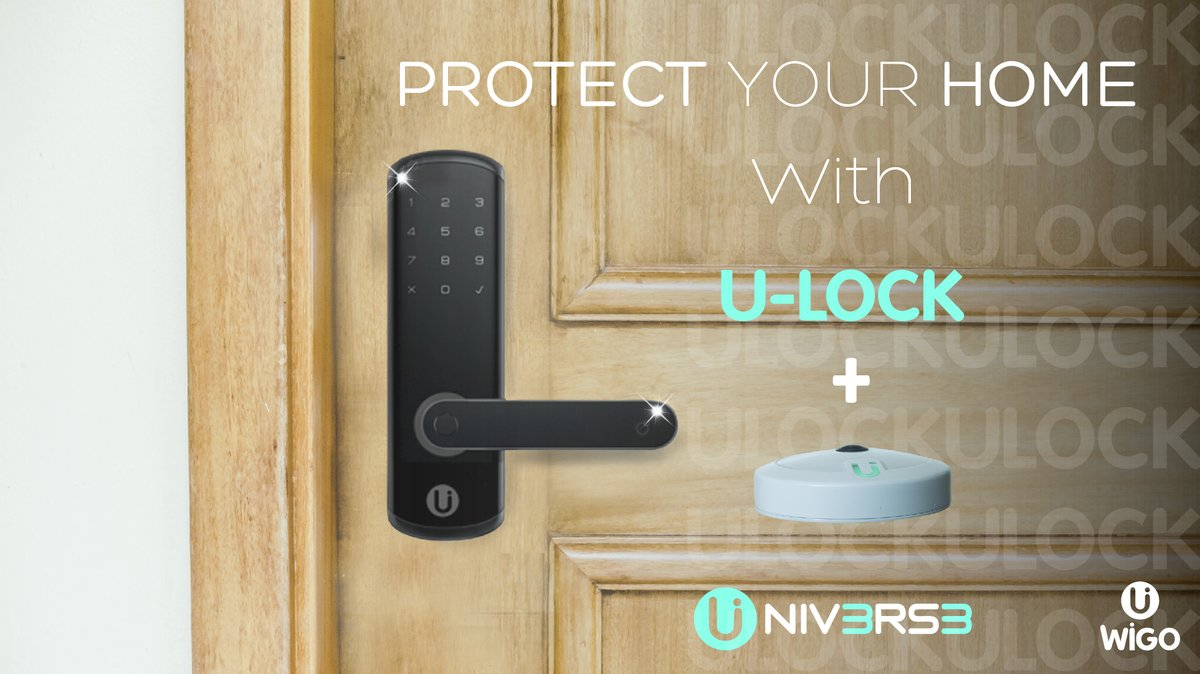 Provide Extra Security to your Smart Home with U-Wigo+U-Lock!!  #SmartHome #IoT #Tech #Home #cool #Technology #BigData #InternetOfThings #Facility #Control #solution #HomeAutomation  #techie #latesttech #ilovemygadgets #gadgetsgalore #apple #android #applevsandroid #wearabletechpic.twitter.com/Vt5qq3L7Ly