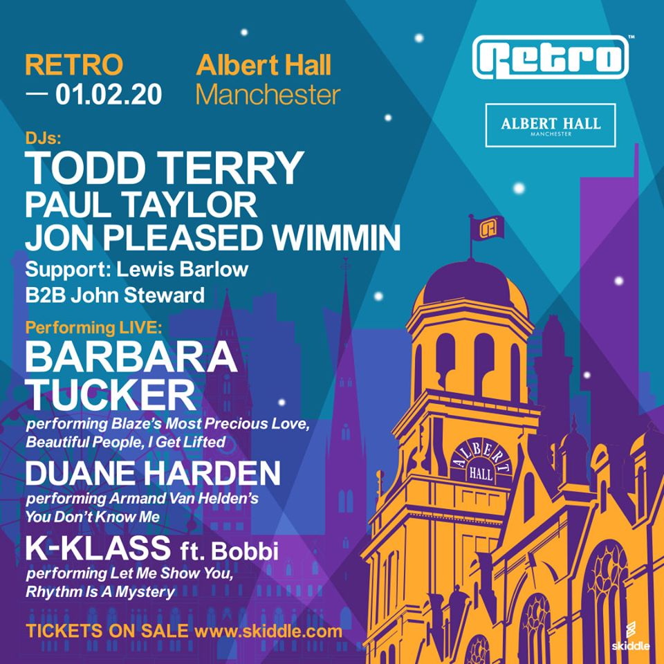 Less than 2 weeks to go till I join the mighty @Retroevents  at the Albert Hall Manchester or a night of classic dance music. Check the line up!!! @djtoddterry @Kklassuk  @djpaultaylor #retrohq #manchester #classichousemusic #dj #djs #djlife #alberthallmcrpic.twitter.com/8MiELUHOTw