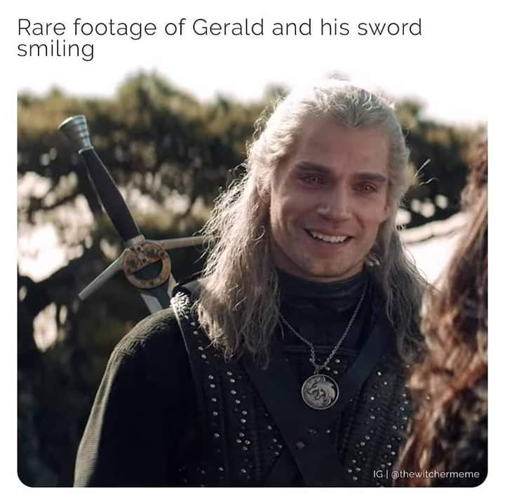 Rare footage 😊#TheWitcher