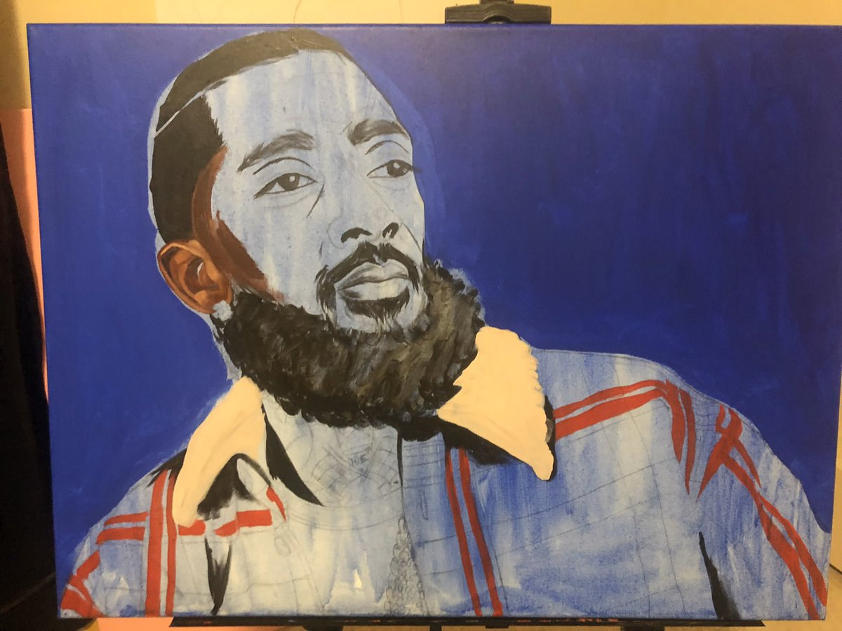 This is how I make art. Nipsey Hussle  by StanSmooth <br>http://pic.twitter.com/pWdLDB13y7