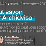 Image for the Tweet beginning: Archidvisor, merci de nous suivre
