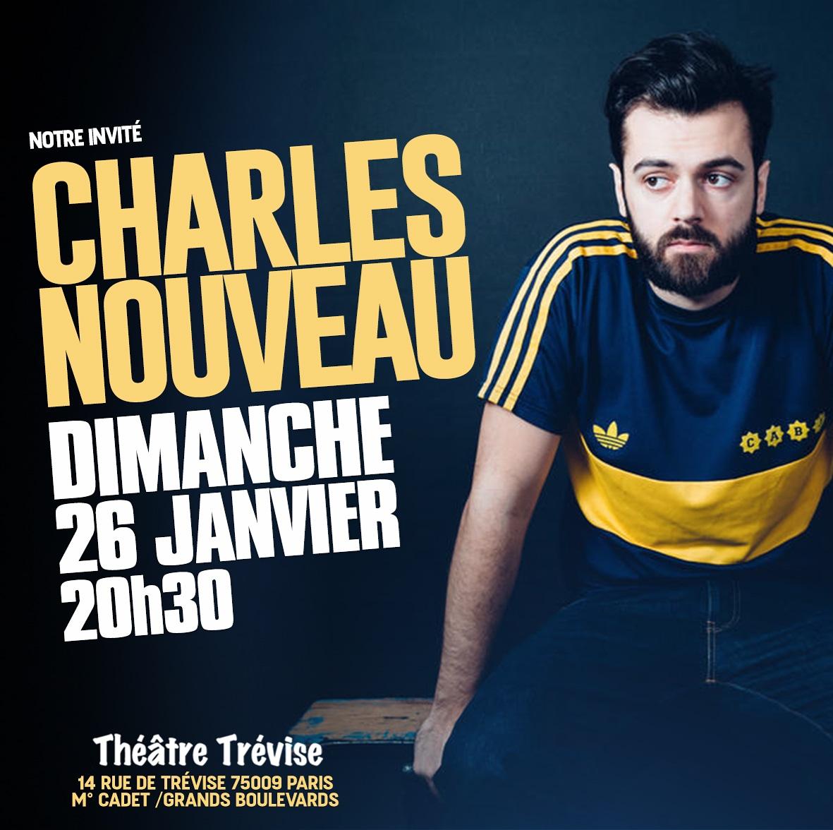 .@CharlesNouveau est le plus suisse de tous nos invités, vous pouvez le retrouver au @TheatreMarais75 ou sur @franceinter. Mais dimanche il sera sur la scène du #FIEALD !  https://www.billetreduc.com/2698/evt.htm  #Paris #Theatre #StandUp #Suisse #Humour #SceneOuverte #SortirAParis pic.twitter.com/vef0MxXuy0