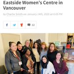 #BossLadies representing! Last week, #MeghanMarkle made a visit to the Downtown Eastside Women's Centre in an effort to  raise awareness for the need for shelter services. We will be donating $1 from every Boss Lady cocktail to the DEWC.  Help us get to $1000! #DEWC