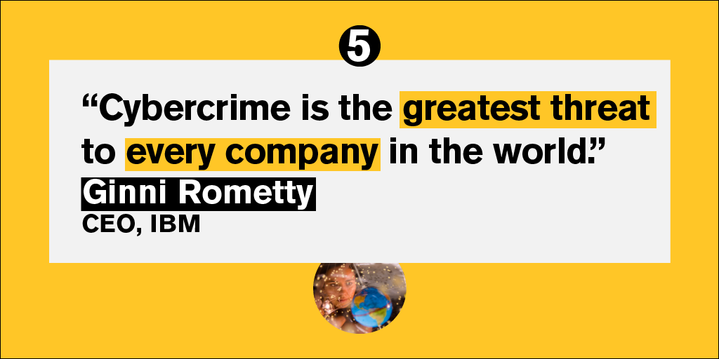 She couldn't have put it better. 👏 Thank you @GinniRometty #thursdaythoughts #quote #cyber #ibm #cybersecurity #infosec