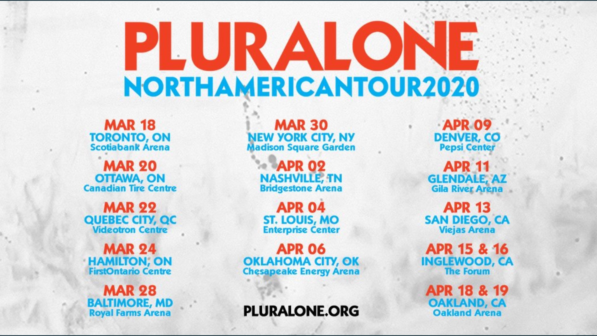 Josh Klinghoffer Fansite On Twitter Pluralone Shows With Pearl Jam Presale Tickets On Sale This Thursday January 23 Public On Sale January 24 We Re So There Thanks To Rhcplivearchive For The