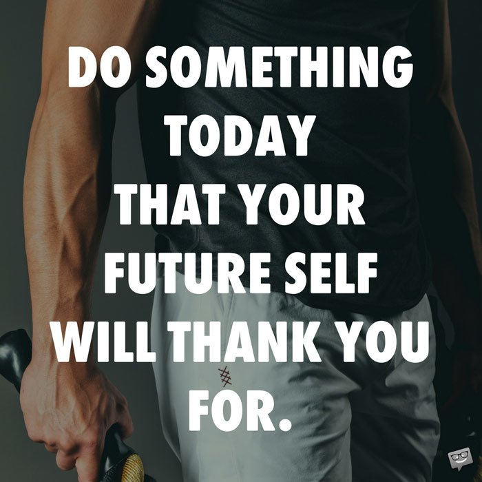 Do something today that your future self will thank you for. #motivation #fitnessmotivation #fitness<br>http://pic.twitter.com/4qfUWVcnk6