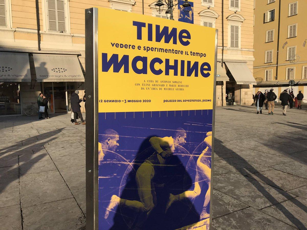 "#Parma2020 | ""Time machine. Sperimentazioni visi..."