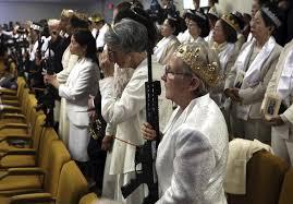 Кажется, они там и молятся на оружие. Но это неточно