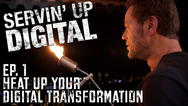 The first episode of SERVIN' UP DIGITAL is now live! It's about #digitaltransformation, a lot of fire and VERY inspiring cooking! Grab your apron and watch how @Axway's Digital Catalyst and Chef @lummitsch heats up your digital transformation. #APIfriends  http:// bit.ly/2RBmesV     <br>http://pic.twitter.com/3NXy6ZChsE