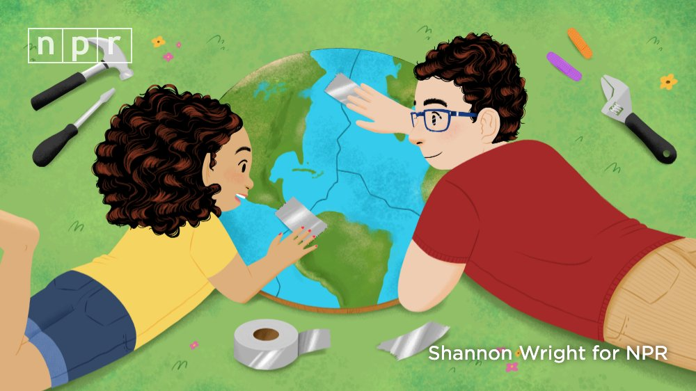 Some tips on talking to your kids about climate change: https://n.pr/2RHwzn8