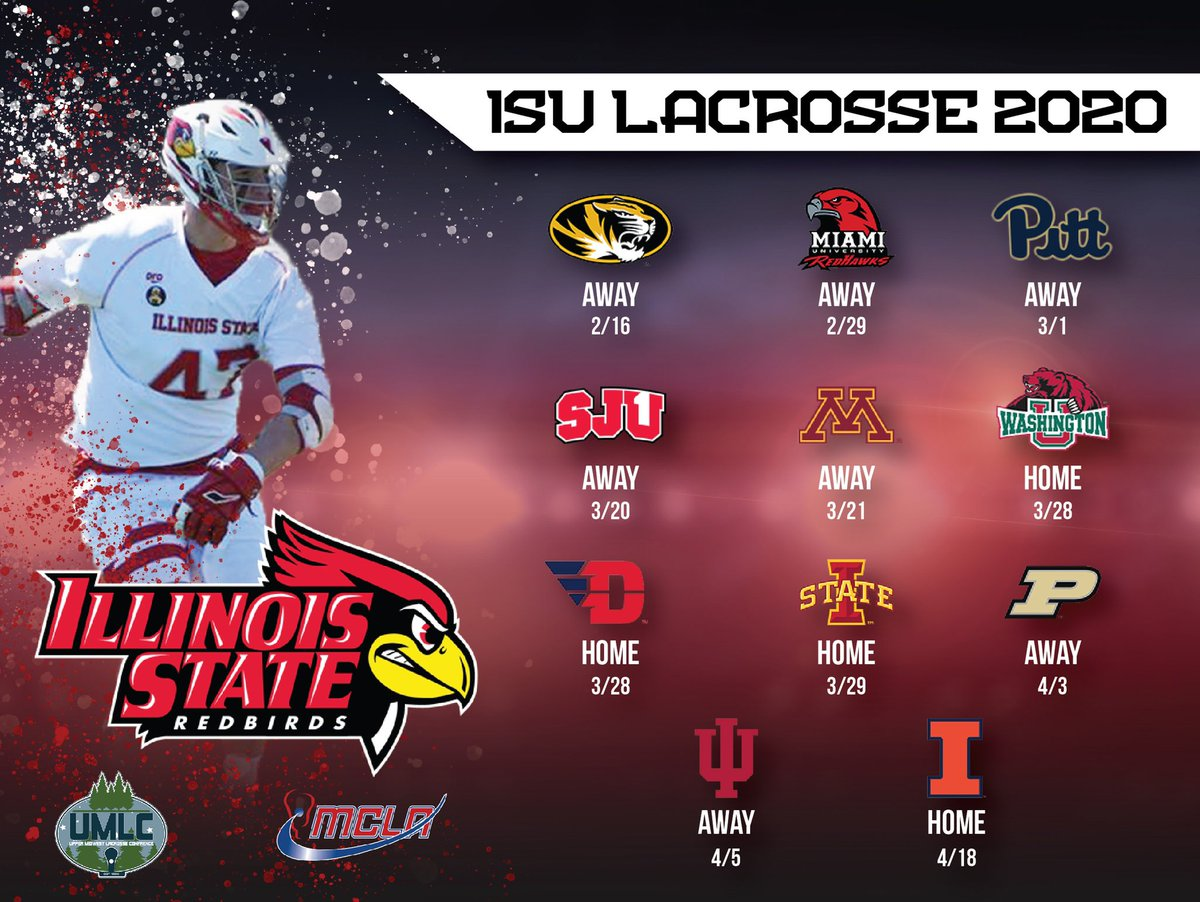 Happy to give our official look at the 2020 Redbird schedule! <br>http://pic.twitter.com/azztw90J2w