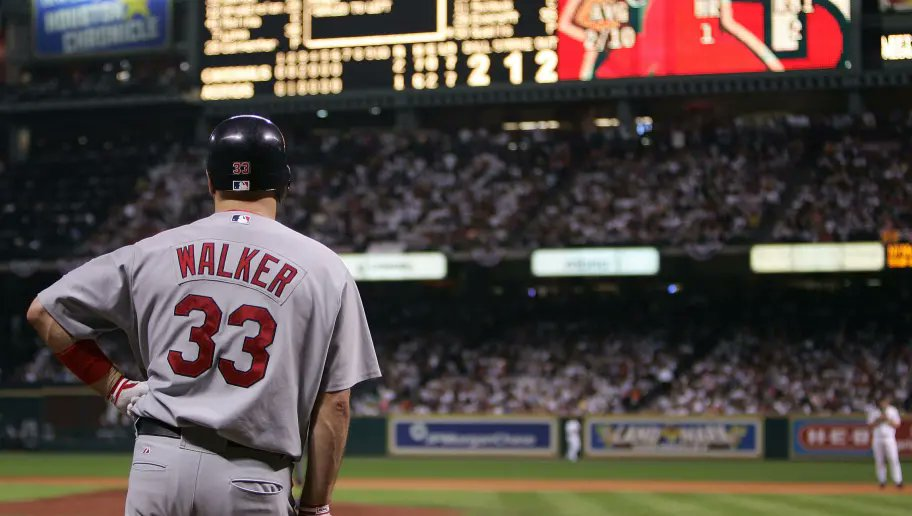 Congrats to former Cardinal Larry Walker on his induction into the Major League Baseball Hall of Fame!