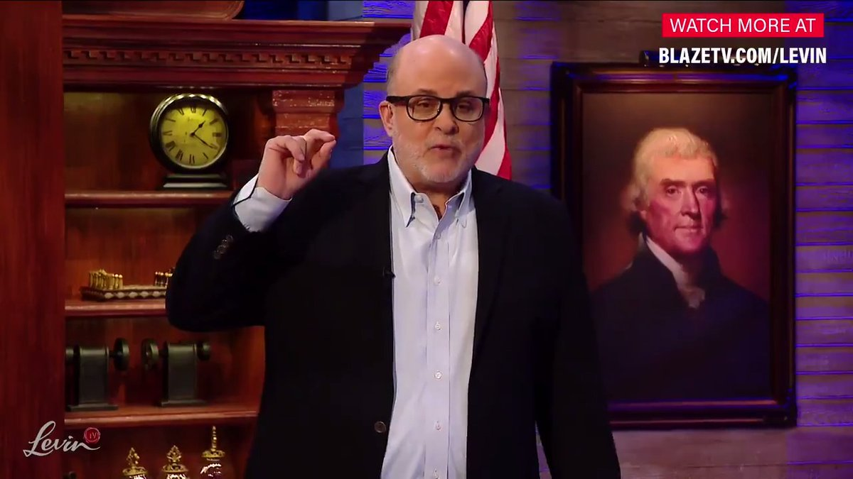 Mark Levin doing what he does best..   whole episode for free - it is a don't miss special!