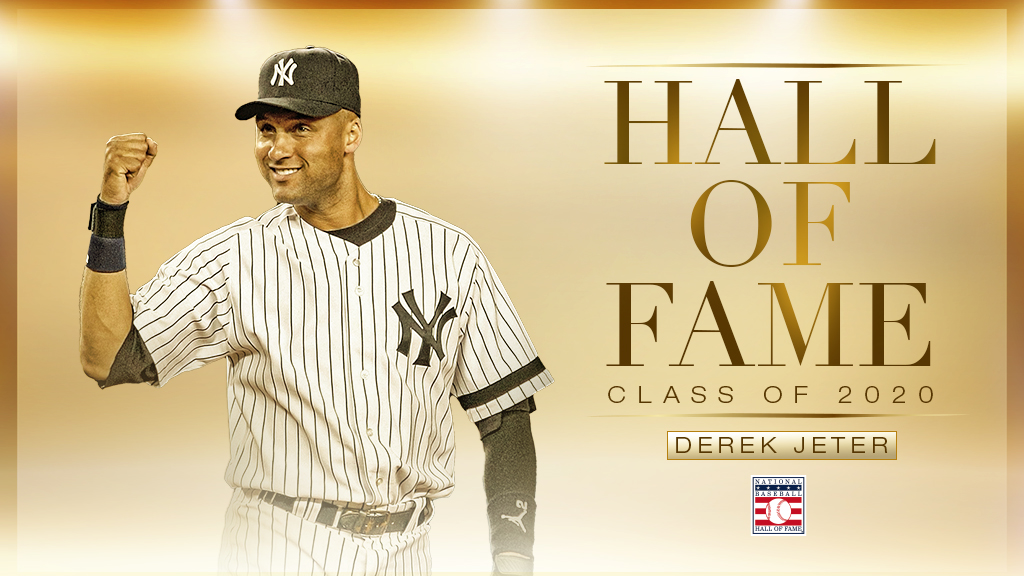 Yankees legend Derek Jeter elected to Hall of Fame in near-unanimous fashion
